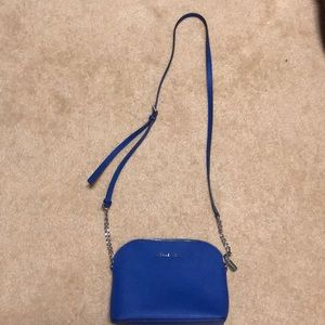 Royal blue Michael Kors bag